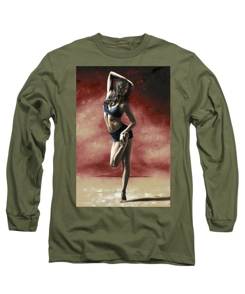 Sultry Dancer Long Sleeve T-Shirt