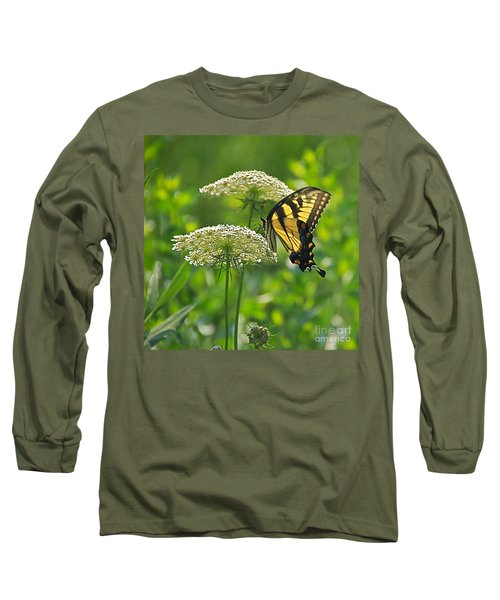 Sultry Summer Day Long Sleeve T-Shirt by Byron Varvarigos