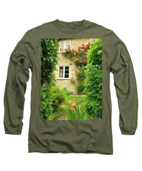 Summer Cottage Long Sleeve T-Shirt