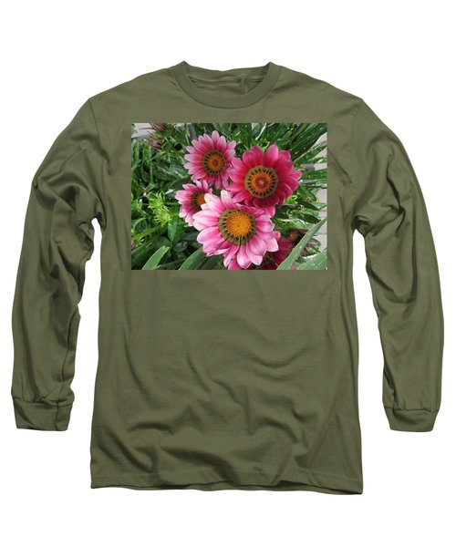 Summer  Full-blown Long Sleeve T-Shirt