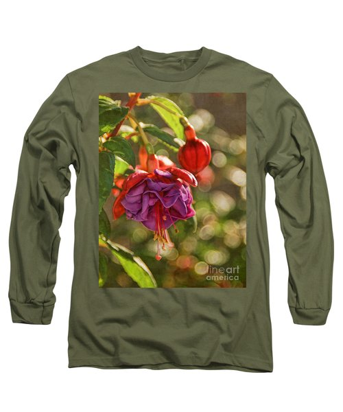 Summer Jewels Long Sleeve T-Shirt by Peggy Hughes