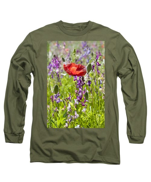 Summer Long Sleeve T-Shirt by Lana Enderle