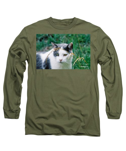 Long Sleeve T-Shirt featuring the photograph Summer Stroll by Donna Brown