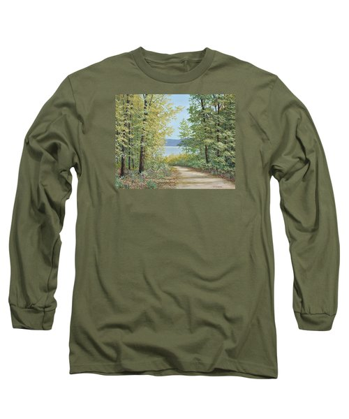 Summer Woods Long Sleeve T-Shirt