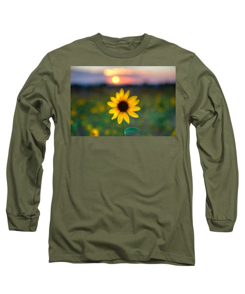 Sun Flower Iv Long Sleeve T-Shirt