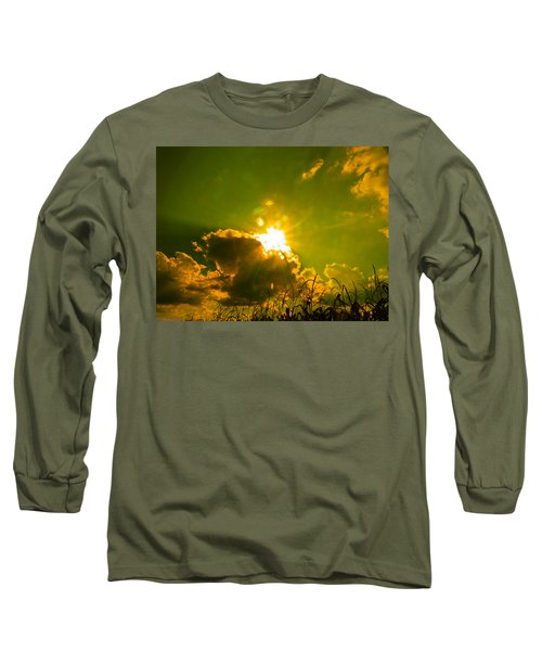 Sun Nest Long Sleeve T-Shirt by Nick Kirby