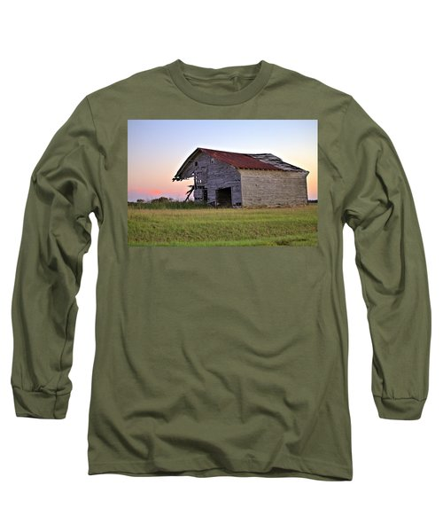 Long Sleeve T-Shirt featuring the photograph Sun Slowly Sets by Gordon Elwell