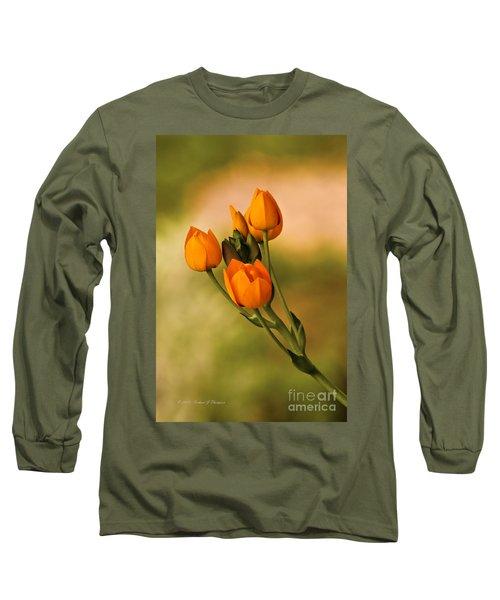 Sun Star Flower Long Sleeve T-Shirt