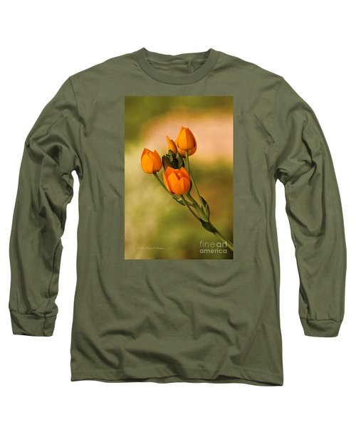 Sun Star Flower Long Sleeve T-Shirt
