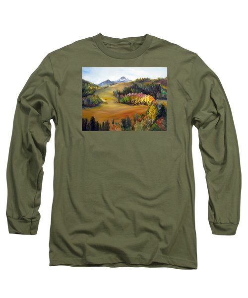 Sundance And Mt. Timpanogos Long Sleeve T-Shirt