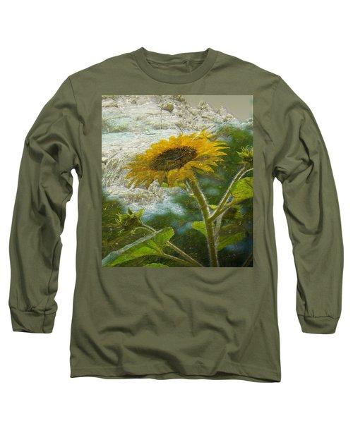 Sunflower Mountain Long Sleeve T-Shirt
