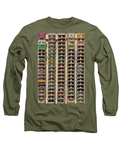 Sunglasses Long Sleeve T-Shirt by Peter Tellone