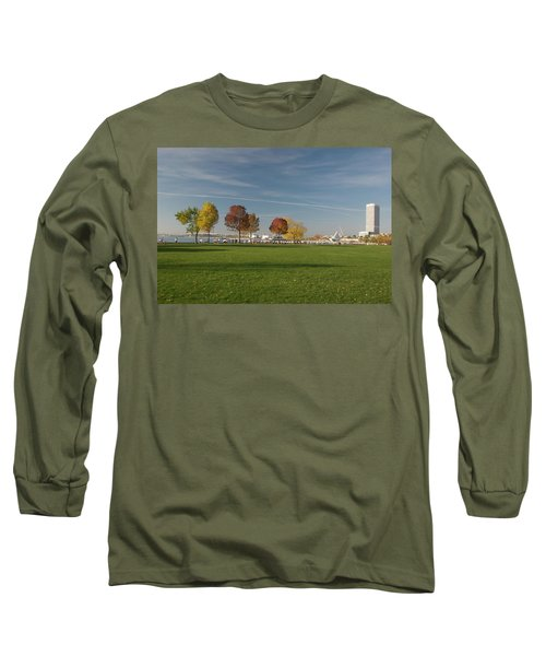 Sunny Autumn Day Long Sleeve T-Shirt by Jonah  Anderson