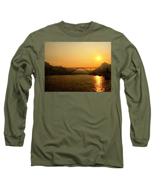 Sunrise Over The River Long Sleeve T-Shirt