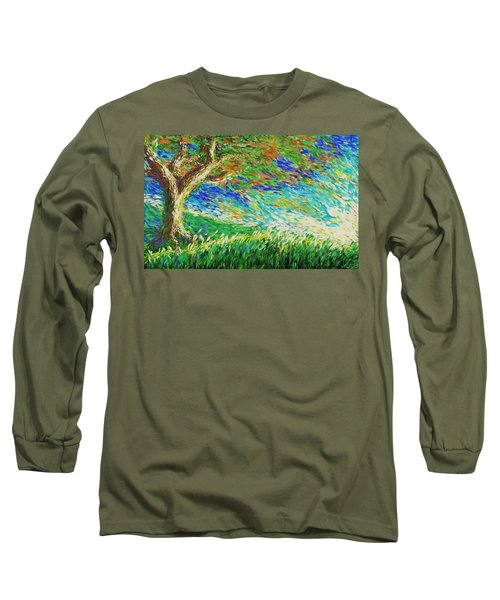 The War Of Wind And Sun Long Sleeve T-Shirt