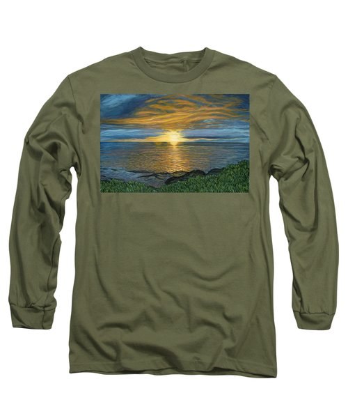 Sunset At Paradise Cove Long Sleeve T-Shirt