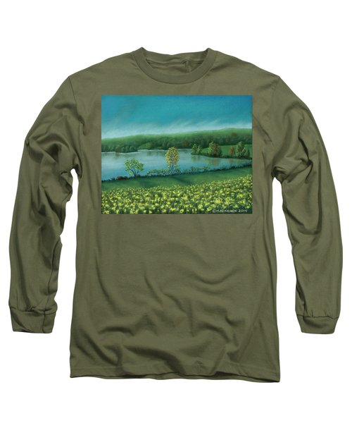 Sunset Lake C Long Sleeve T-Shirt