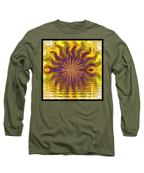 Sunset Of Sorts Long Sleeve T-Shirt by Elizabeth McTaggart