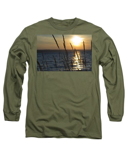 Sunset On Cayuga Lake Long Sleeve T-Shirt