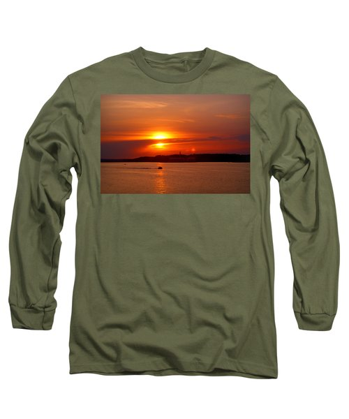 Sunset Over Lake Ozark Long Sleeve T-Shirt