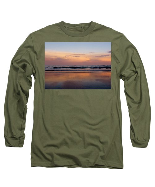 Sunset Over Long Sands Beach II Long Sleeve T-Shirt