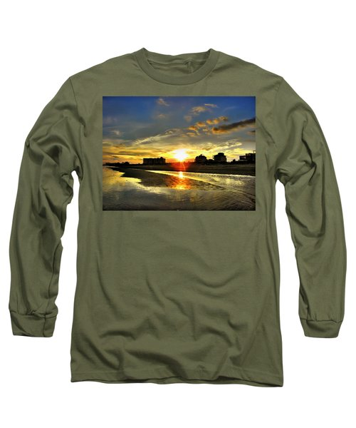 Long Sleeve T-Shirt featuring the photograph Sunset by Savannah Gibbs