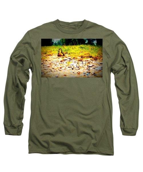Sunshine Butterfly Long Sleeve T-Shirt