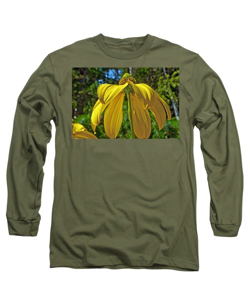 Long Sleeve T-Shirt featuring the photograph Sunshine On My Shoulders by Tikvah's Hope