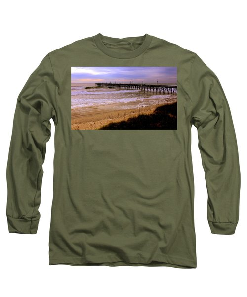 Surf City Pier Long Sleeve T-Shirt