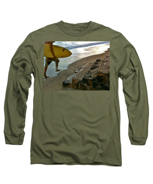 Surfer In Motion Long Sleeve T-Shirt