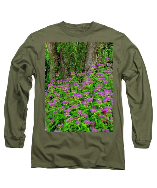 Surrounded Long Sleeve T-Shirt by Rodney Lee Williams