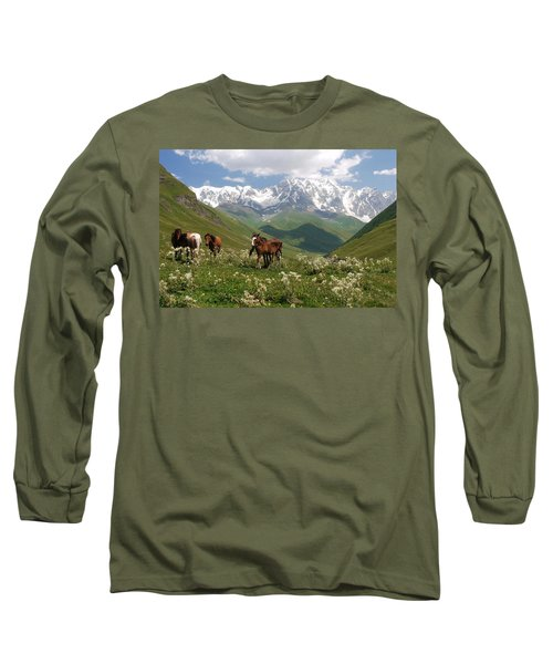 Svaneti  Long Sleeve T-Shirt