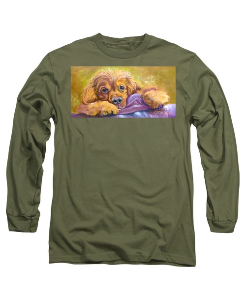 Sweet Boy Rescued Long Sleeve T-Shirt