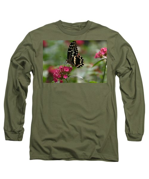 Long Sleeve T-Shirt featuring the photograph Sweet Nectar by Denyse Duhaime