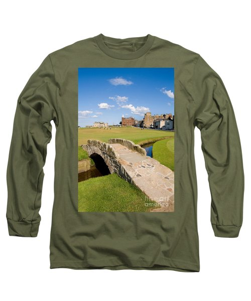 Swilcan Bridge On The 18th Hole At St Andrews Old Golf Course Scotland Long Sleeve T-Shirt