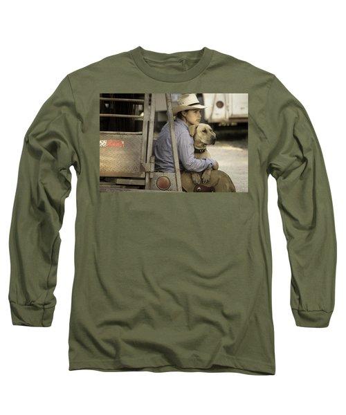 Tailgate Friends Long Sleeve T-Shirt by Steven Bateson