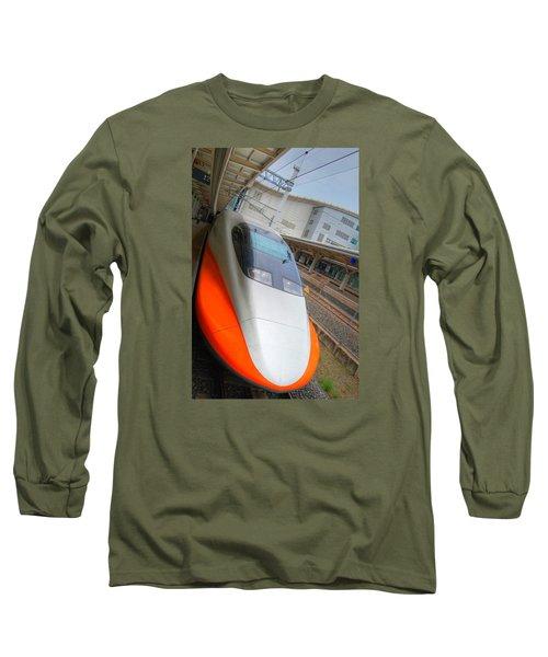 Taiwan Bullet Train Long Sleeve T-Shirt