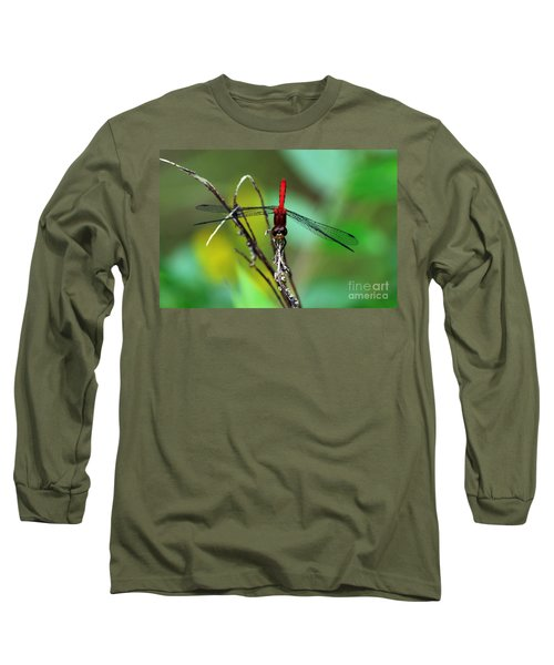 Taking A Bow Long Sleeve T-Shirt by Kevin Fortier