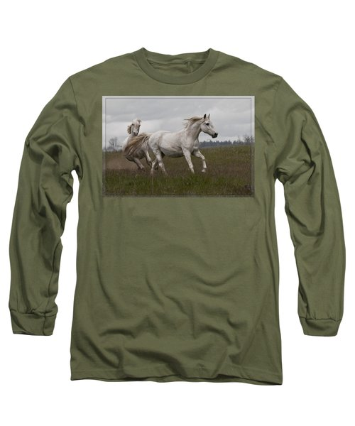 Talegating Long Sleeve T-Shirt by Wes and Dotty Weber