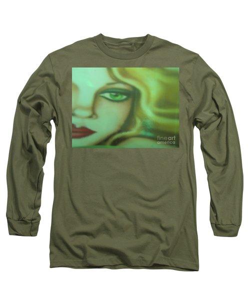 Tangled - Abstract Long Sleeve T-Shirt