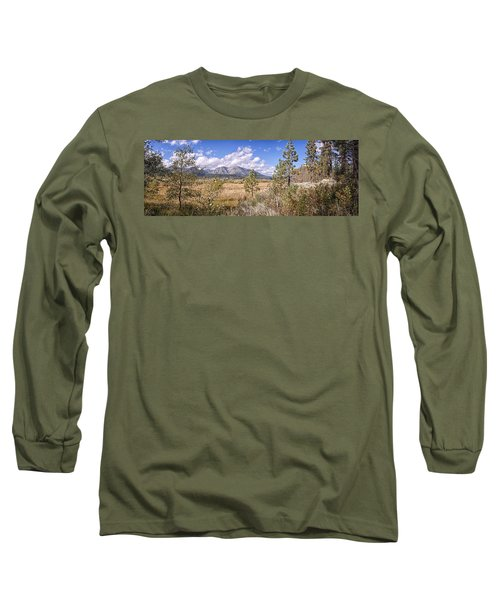 Long Sleeve T-Shirt featuring the photograph Taylor Creek Panorama by Jim Thompson