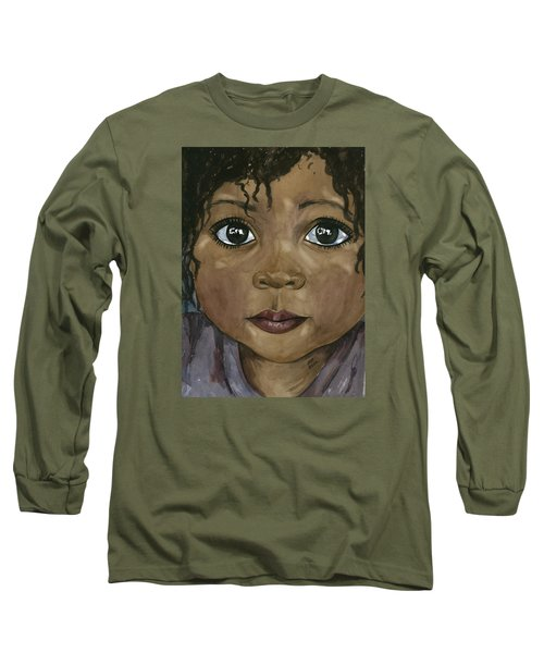 Ebony's Tears Long Sleeve T-Shirt