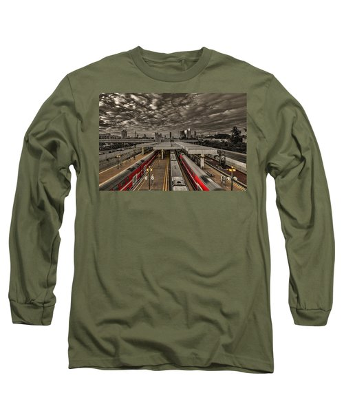 Tel Aviv Central Railway Station Long Sleeve T-Shirt