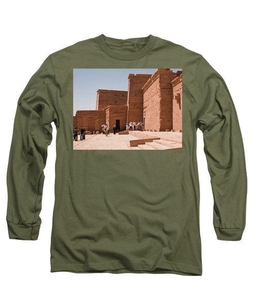 Temple Building Long Sleeve T-Shirt