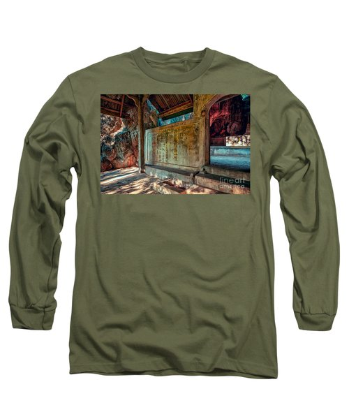 Temple Cave Long Sleeve T-Shirt