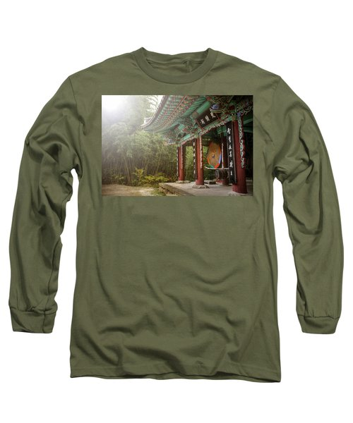 Temple Drum Long Sleeve T-Shirt