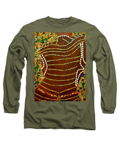 Temple Of The Goddess Eye Vol 2 Long Sleeve T-Shirt by Apanaki Temitayo M