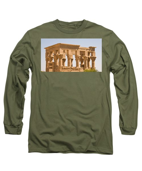 Temple Out Building Long Sleeve T-Shirt