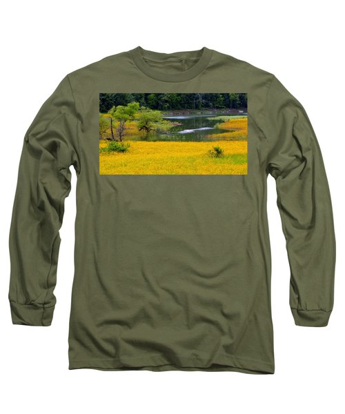 Tennessee Black-eyed Susan Field Long Sleeve T-Shirt