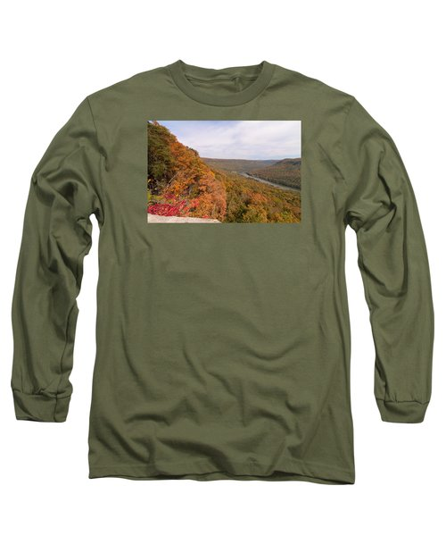 Long Sleeve T-Shirt featuring the photograph Tennessee Riverboat Fall by Paul Rebmann